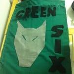 Green Six Den Flag