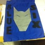 Blue Six Den Flag
