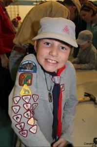 Cub Scout Benjamin from Winnipeg